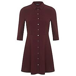Miss Selfridge - Petites button shirt dress