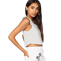 Miss Selfridge - Petite tie shoulder crop