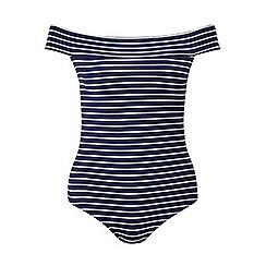 Miss Selfridge - Petites navy stripe body