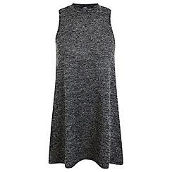 Miss Selfridge - Petites grey boucle tunic