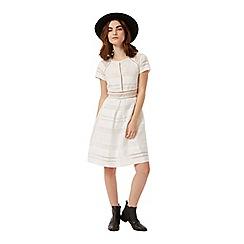 Miss Selfridge - Petites white prom dress