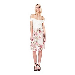 Miss Selfridge - Petites bardot floral dress