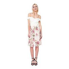 Miss Selfridge - Petites bardot floral dress