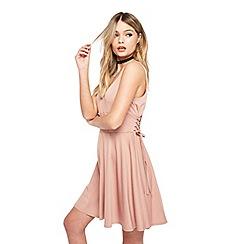 Miss Selfridge - Petite corset skater dress