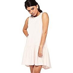 Miss Selfridge - Petite high low hem dress