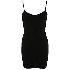 Miss Selfridge - Petites lace bodycon dress