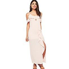 Miss Selfridge - Petite ruffle maxi dress