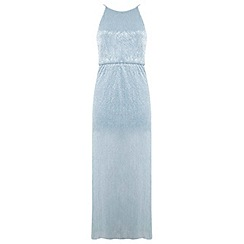 Miss Selfridge - Petites mint maxi dress
