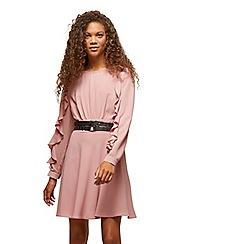 Miss Selfridge - Petite ruffle sleeves dress