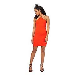 Miss Selfridge - Petites red 90's bodycon dress