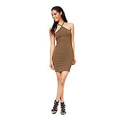 Miss Selfridge - Petites triangle bodycon dress