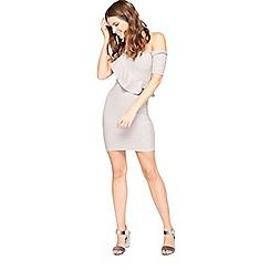 Miss Selfridge - Petite bandage dress