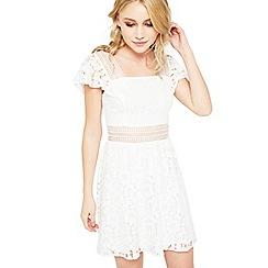 Miss Selfridge - Petite ivory lace dress