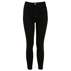 Miss Selfridge - Petites high waist jean