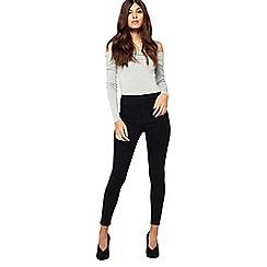 Miss Selfridge - Petite black steffi jeans
