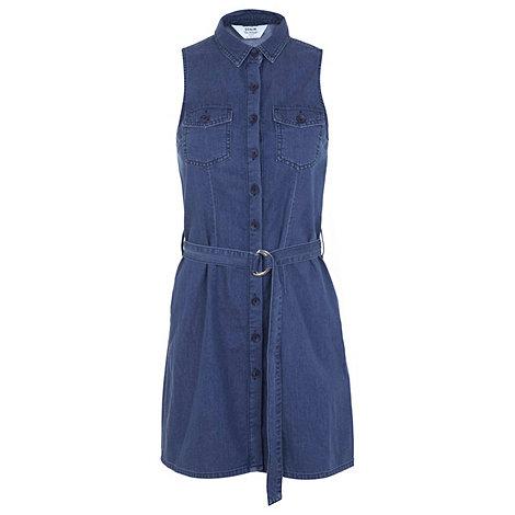 Luxury By Jasper Conran Womens Blue Denim Dress From Debenhams  EBay