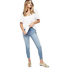 Miss Selfridge - Petites light blue steffi jeans