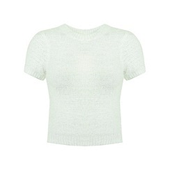 Miss Selfridge - Petites ivory fluffy jumper