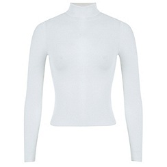 Miss Selfridge - Petites cream rollneck jumper