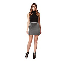 Miss Selfridge - Petites jacquard a-line skirt