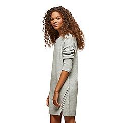 Miss Selfridge - Petites grey jumper dress