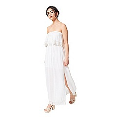Miss Selfridge - Petites ivory maxi dress