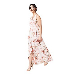 Miss Selfridge - Petites floral wrap maxi dress