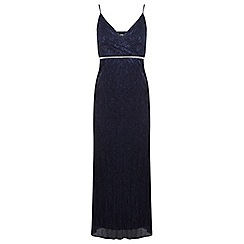 Miss Selfridge - Petites wrap front maxi dress