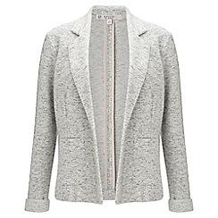 Miss Selfridge - Grey brushed jacket