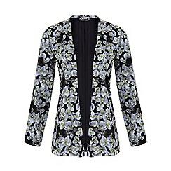 Miss Selfridge - Petites dark floral blazer