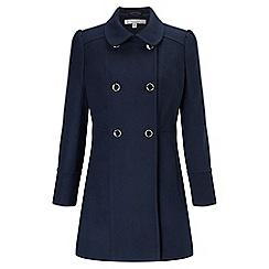 Miss Selfridge - Petites navy pea coat