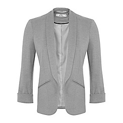 Miss Selfridge - Petites grey blazer jacket