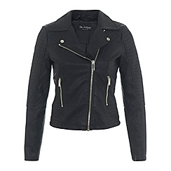 Miss Selfridge - Petites faux leather jacket