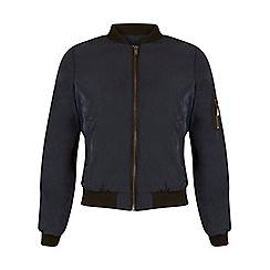 Miss Selfridge - Petites navy bomber jacket