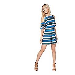 Miss Selfridge - Petites stripe flippy skort