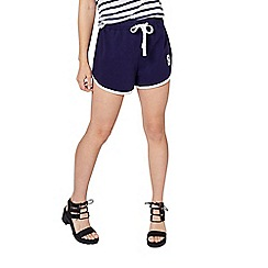 Miss Selfridge - Petites navy runner shorts