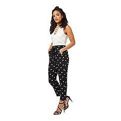 Miss Selfridge - Petites tile print jogger