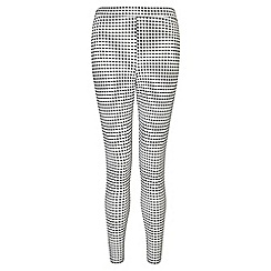 Miss Selfridge - Petites gingham tube trouser