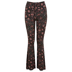 Miss Selfridge - Petites printed kickflare