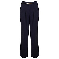 Miss Selfridge - Petites navy wide leg trouser