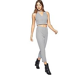 Miss Selfridge - Petite check tailored trouser