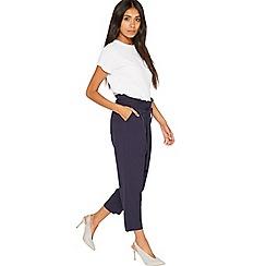 Miss Selfridge - Petite paper bag trousers