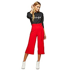 Miss Selfridge - Petite ruffle top trousers