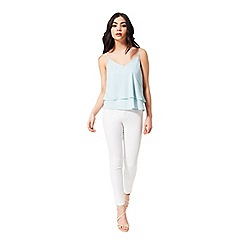 Miss Selfridge - Petites pale blue cami top