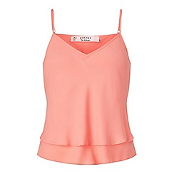 Miss Selfridge - Petites coral cami top