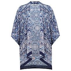 Miss Selfridge - Petite border print kimono