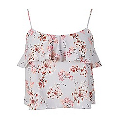 Miss Selfridge - Petites blossom print cami