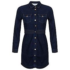 Miss Selfridge - Petites denim shirt dress