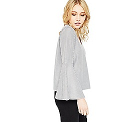 Miss Selfridge - Petite v neck blouse