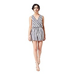 Miss Selfridge - Petites stripe playsuit